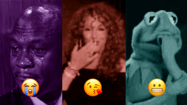 The Emotional GIF Range of Celebs